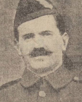 Company Sergeant Major Thomas Bowman was awarded the Military Cross for his part in the Battle of Loos